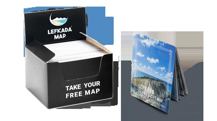 Lefkada Map